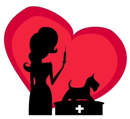 veterinary animal doctor Stock Vector - 17274462