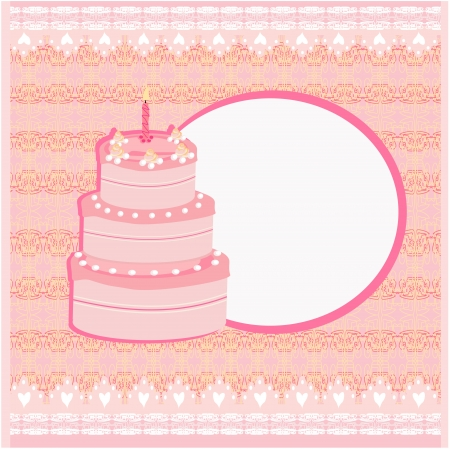 Happy Birthday Card  Stock Vector - 17317236