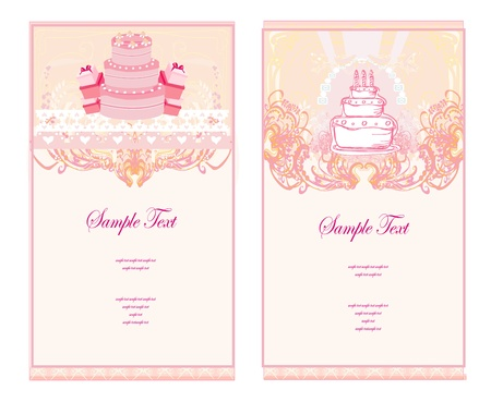 cliipart:  Happy Birthday Card set