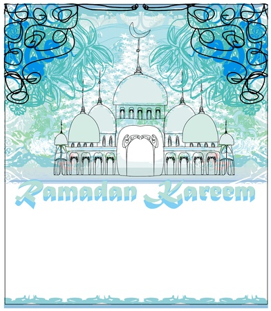 Illustration of Mosque  Stock Vector - 17414535