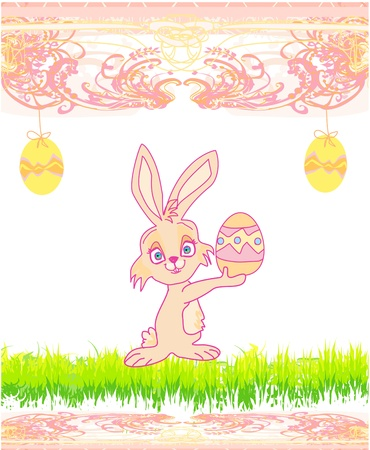 Doodle Easter Bunny  Stock Vector - 17531087