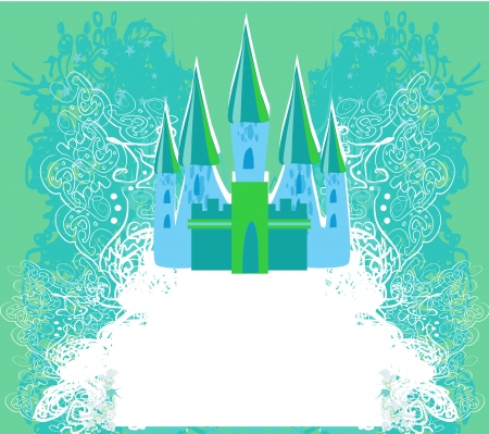 Magic Fairy Tale Princess Castle  Stock Vector - 17778995