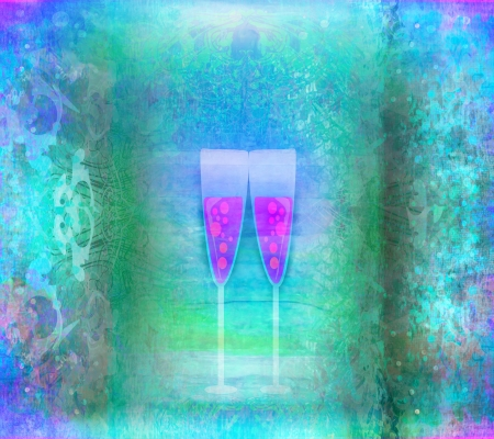 Invitation To Birthday Cocktail Party Stock Photo - 17779013