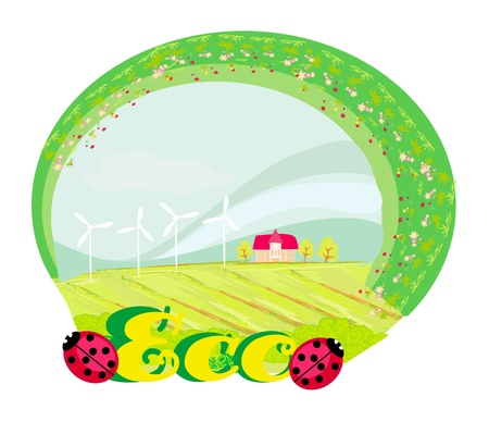 Eco label Stock Vector - 18183965