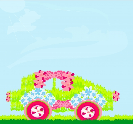 chinook: The ecological car from plants Illustration