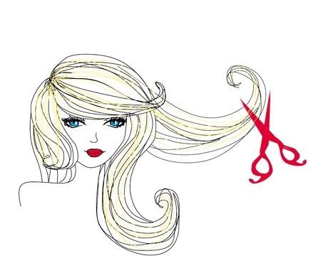 美容室美容院散髪を作る