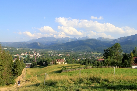 Morning sunny day is in mountain landscape. Stock Photo - 19372540