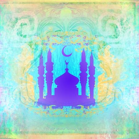 relegion: stylish ramadan kareem card
