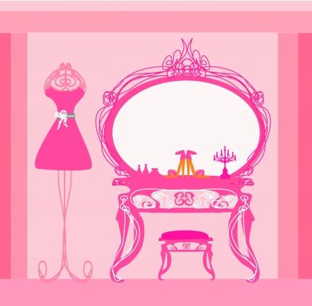 kleedkamer: elegante stijl kleedkamer