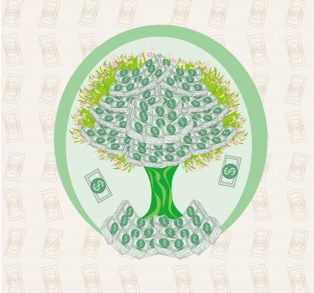 us coin: que crece en los �rboles de dinero - resumen de tarjeta