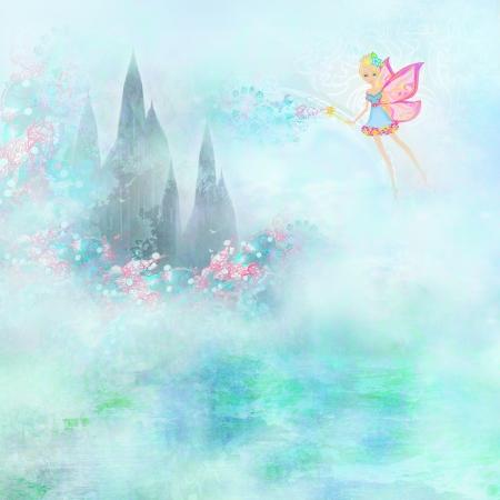 Magic Fairy Tale Princess Castle  photo