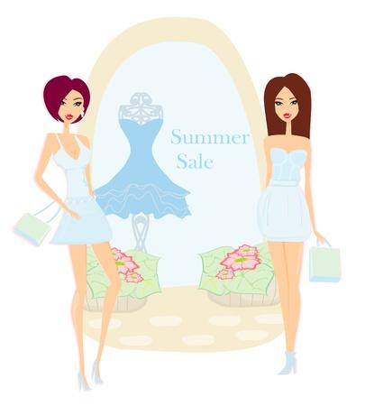 shoptalk: fashion girls Shopping - Summer shopping sale