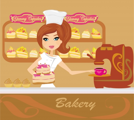 clothes shop: bakery store