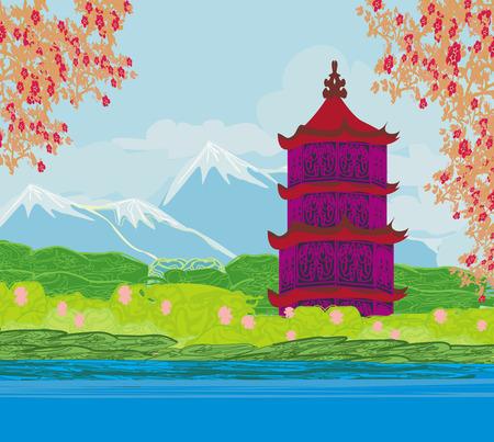 east river: Beautiful landscape in Japan