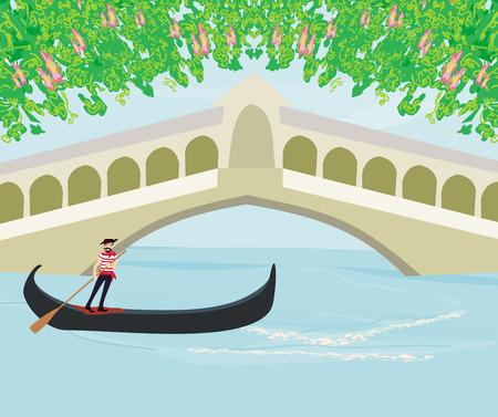 gondoliere in venezia