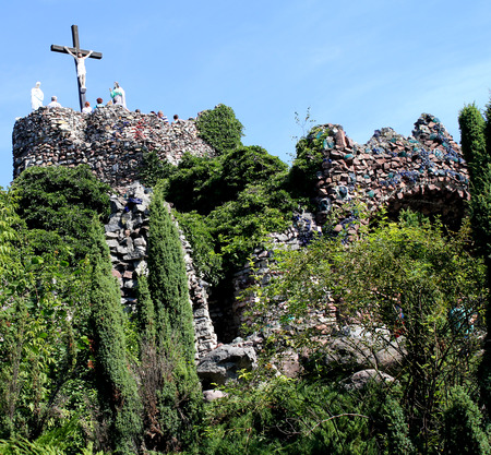 golgotha: Sanctuary of Our Lady in Lichen - Poland, Golgotha
