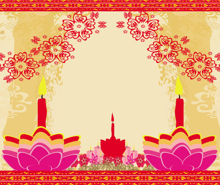 abstract diwali celebration background, vector illustration  Vector
