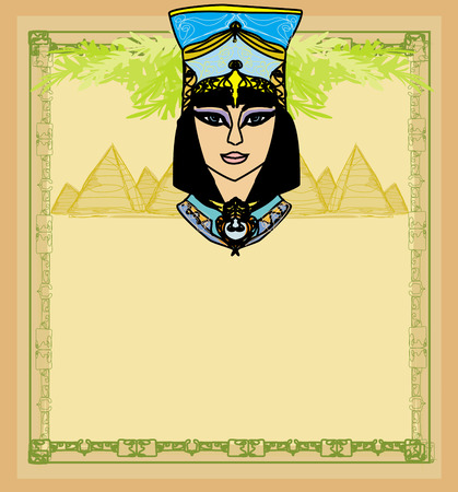 cleopatra: Egyptian queen Cleopatra , frame