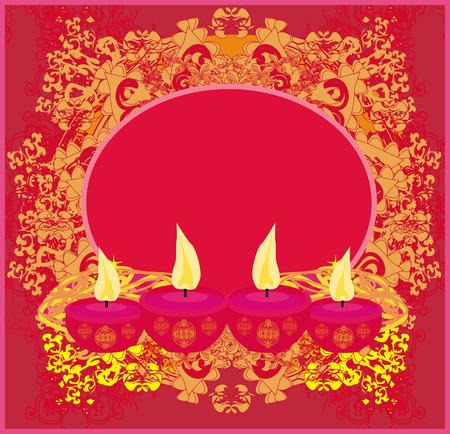 diwali celebration: abstract Diwali celebration background Illustration