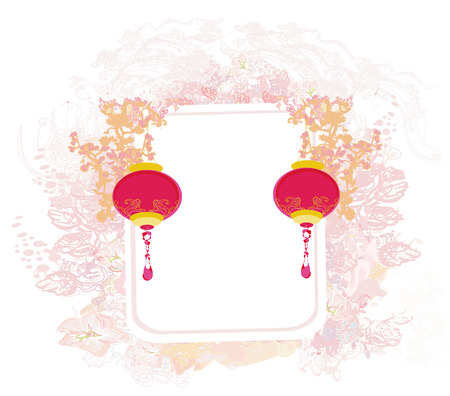 lanterns will bring good luck and peace to prayer during Mid-Autumn Festival for Chinese New Year  Vector