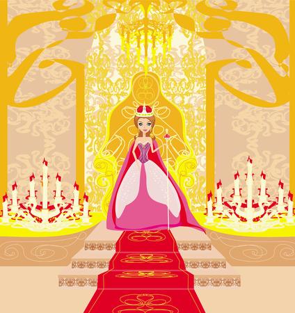 czar: beautiful young queen in chamber