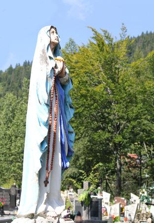 doctrine: Virgin Mary statue  Stock Photo