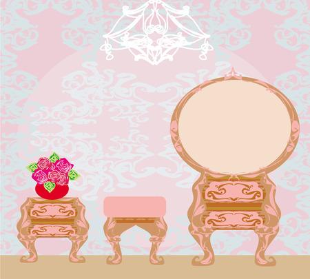 dressing room: elegant style dressing room