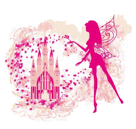 fairy:  Magic Fairy Tale Princess Castle