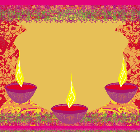 abstract diwali celebration background, illustration Vector