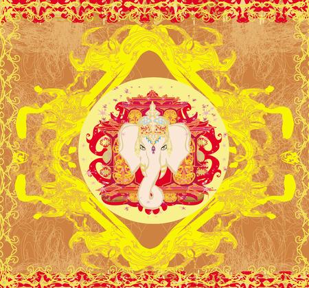 lord ganesha: Ejemplo creativo de se�or hind� Ganesha