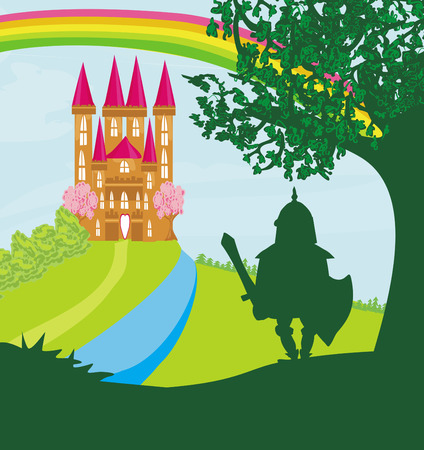 popular tale: Knight guarding