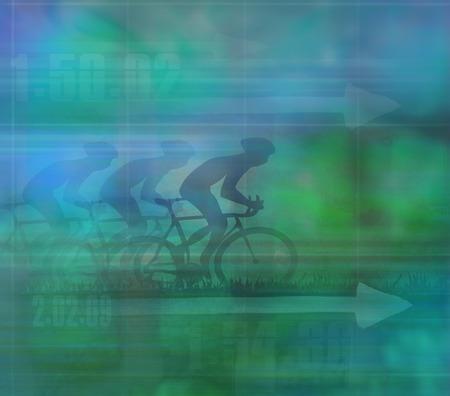 peloton: Cycling Design, dark Background