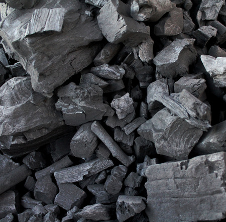 Pile of coal makes a cool pattern for a background.