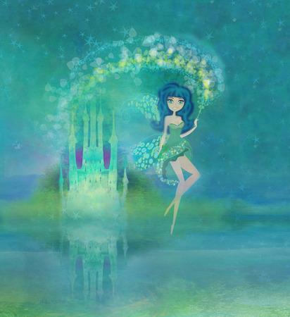 castle door: Magic Fairy Tale Princess Castle