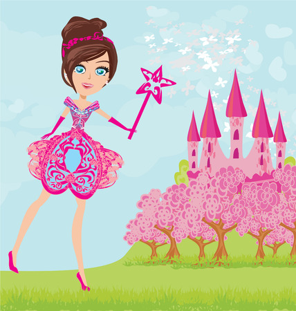 princess castle: Magic Fairy Tale Princess Castle