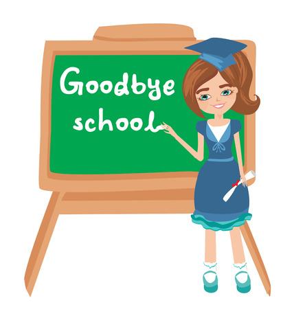 addio: Addio Scuola Vettoriali