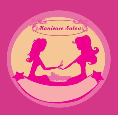 nail file: manicure in beauty salon icon