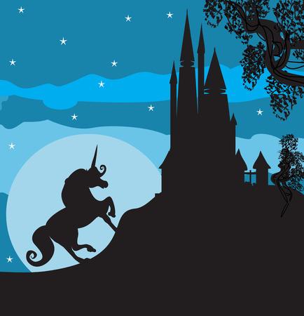 unicorn: Castle and Unicorn