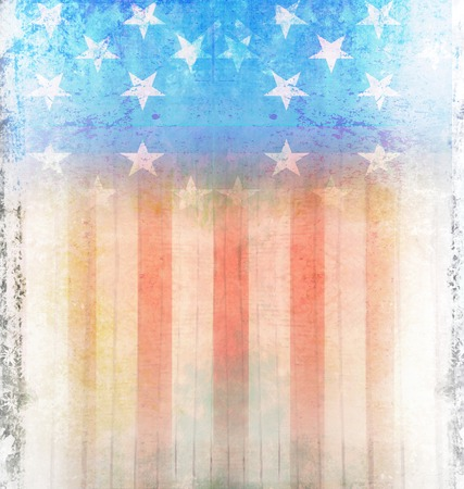 us flag grunge: Dark Grunge US Flag