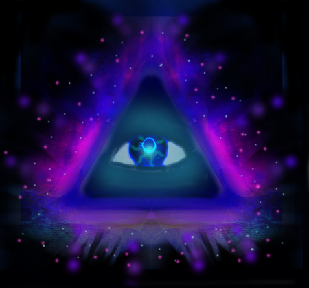 All seeing eye photo