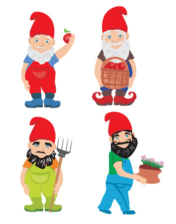 dwarf: Gnome Garden Set