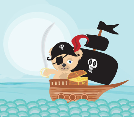 booty pirate: Pirate Teddy bear