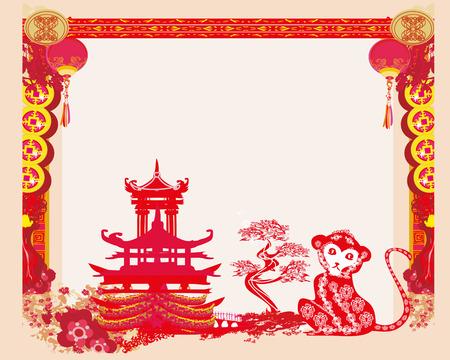 auspicious sign: Chinese zodiac signs - monkey