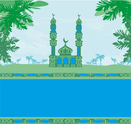 relegion: ramadan kareem card