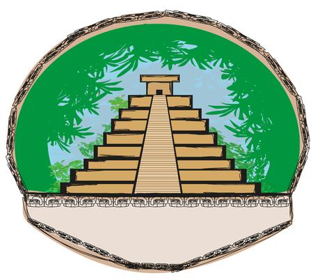 itza: Mayan Pyramid, Chichen-Itza, Mexico