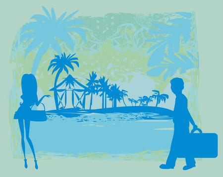 tropical: tropical vacation