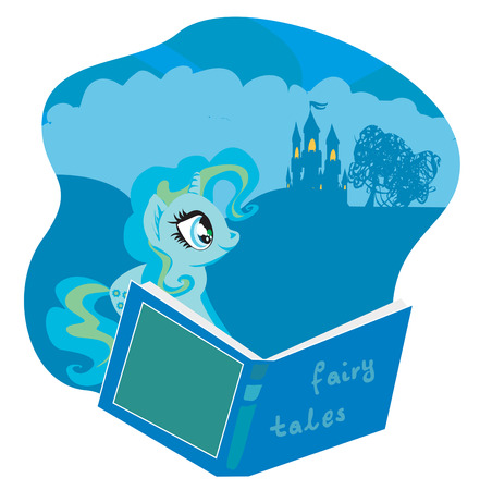 fairy castle: fairy castle appearing from the book