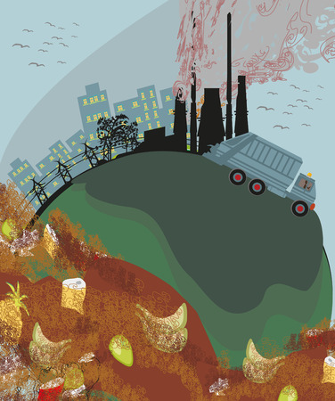 polluted: polluted cities