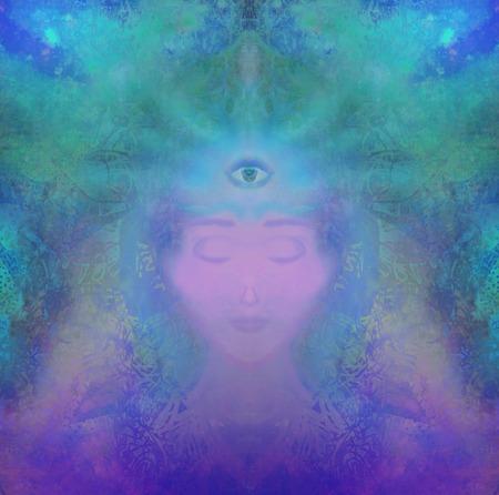 psiquico: el hombre con el tercer ojo, ps�quicos sentidos sobrenaturales