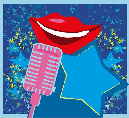 Karaoke night card